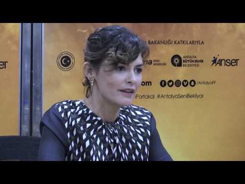 53.Uluslararası Antalya Film Festivali Audrey Tautou Basın Toplantısı