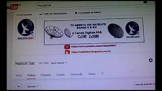 Sites  com Dicas Apontar sua Antena pra Qualquer Satelite