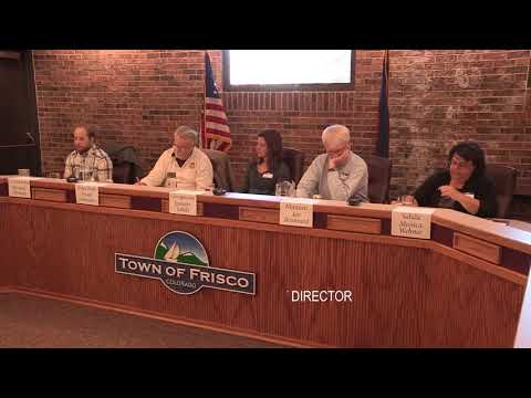 """""""New Approaches to Short-term Rental Regulations"""" Hosted by the Town of Frisco."""