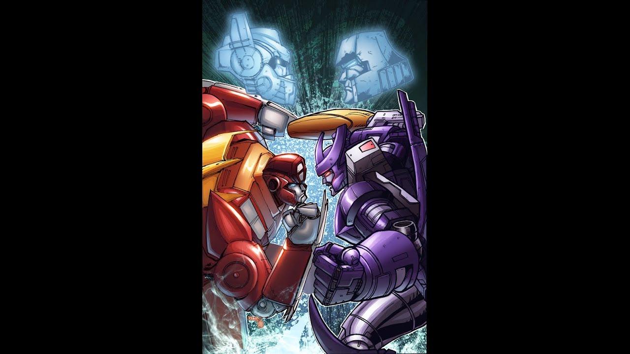 Rodimus vs galvatron epic rap battles of cybertron youtube - Transformers cartoon optimus prime vs megatron ...