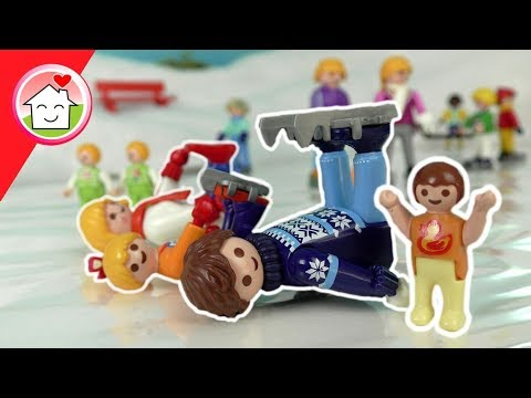 Playmobil Film deutsch - Spass auf dem Eis - Geschichte für Kinder von Familie Hauser