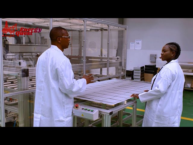 Energy Quest Episode 10 - Solar PV Manufacturing In Ghana