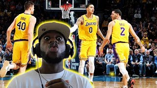 CAN THE LAKERS KEEP UP THIS ENERGY WITHOUT LEBRON?!! OKC vs Lakers Highlights | *REACTION*
