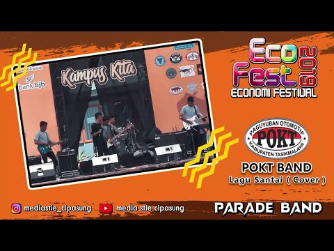 RANDOM ROCK STEADY - LAGU SANTAI COVER ( ECO FEST 2019 )
