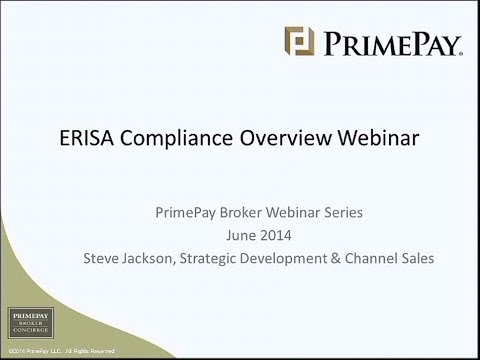 ERISA Compliance Overview