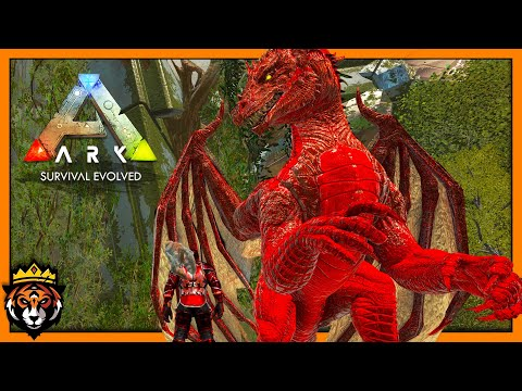 ALPHA DRAGON TAME & Defeating Our FIRST Origin Boss! (Ark Survival Evolved Primal Fear) #18