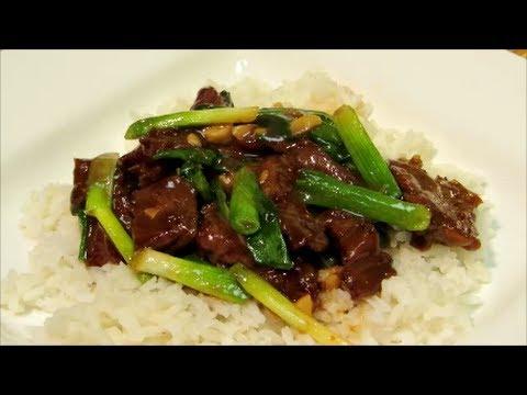 Mongolian Beef - How To Make Mongolian Beef - Chinese Food