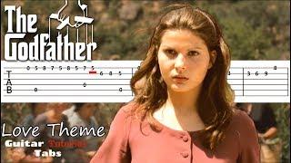 The Godfather - Theme GUITAR TABS TUTORIAL | Крестный Отец Табы для гитары | Крестный Отец на гитаре