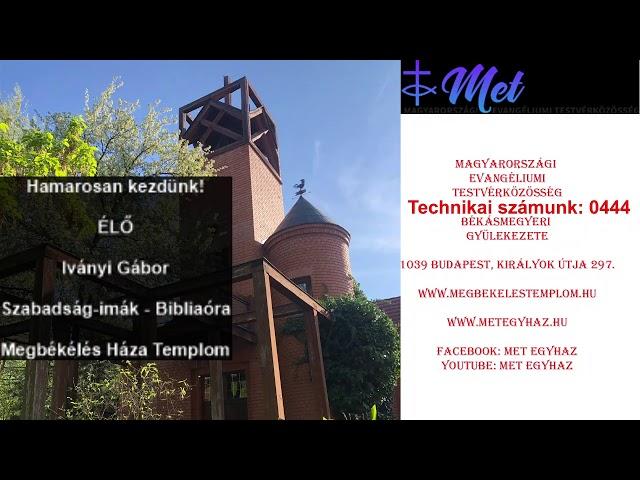 MET Egyház élő közvetítése