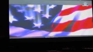 Charice sing  US national anthem to the civil rights game in chicago 2 year old imitating her