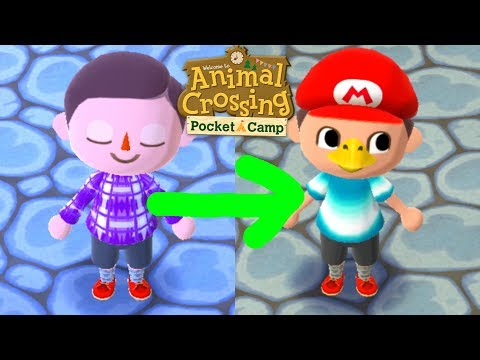 Animal Crossing Pocket Camp - HOW TO CHANGE YOUR LOOK
