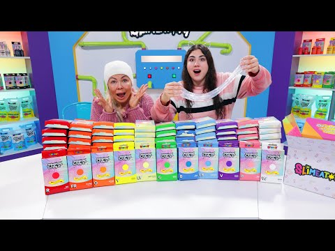 ADDING WAY TOO MUCH SLIMEATORY INGREDIENTS IN SLIME (MAGICAL CLAY!!) Slimeatory 662