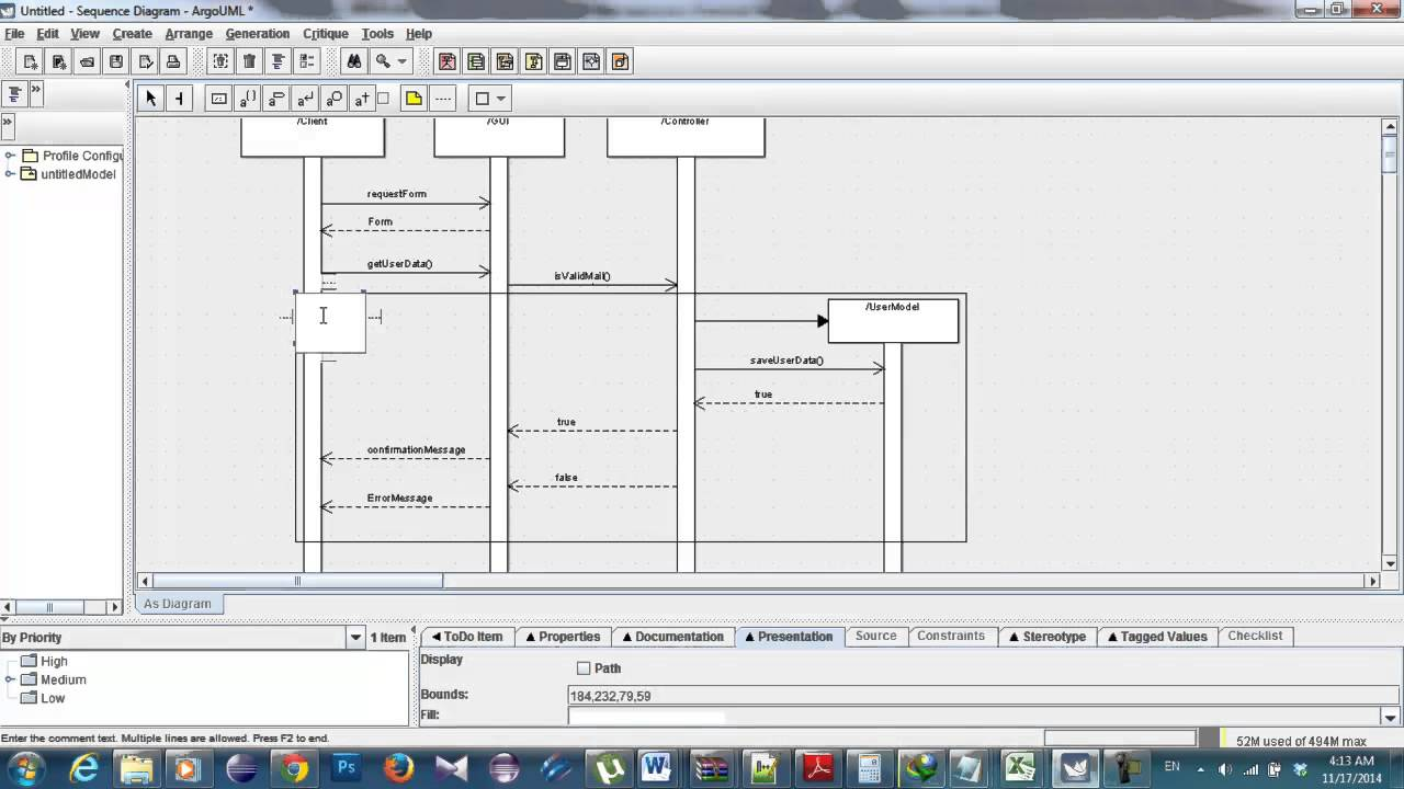 Sequence Diagram Tutorial Enterprise Architect Guide And Autocad Conduit Wiring 2015 Swe1 Alt In Argouml Youtube Sample Development System Communication