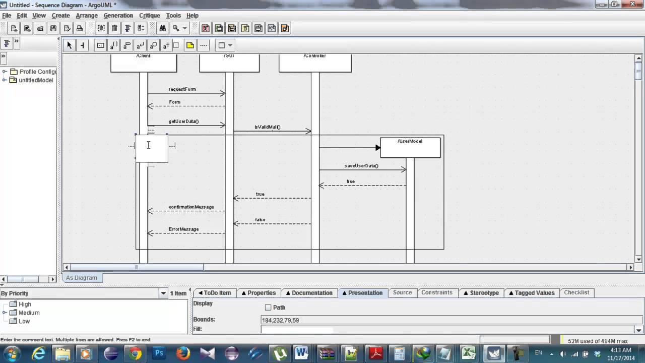 add actor sequence diagram staruml [ 1280 x 720 Pixel ]