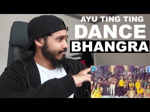 Ayu Ting Ting Dance Bhangra Reaction