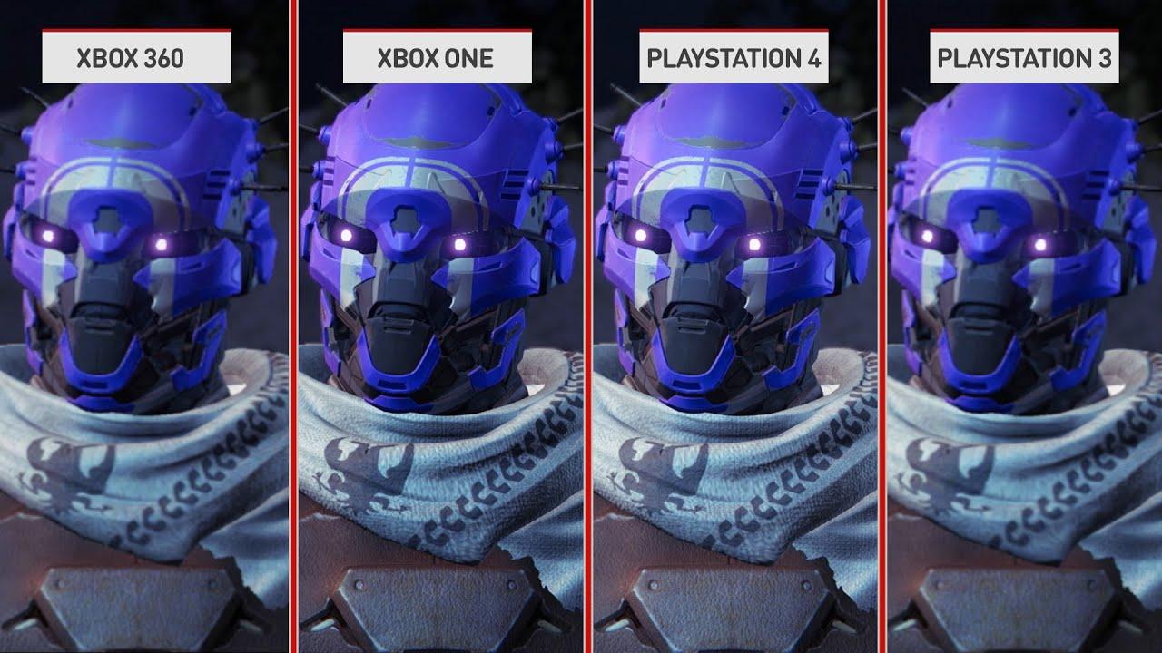 Destiny: Current Gen Vs. Last Gen Graphics Comparison - YouTube