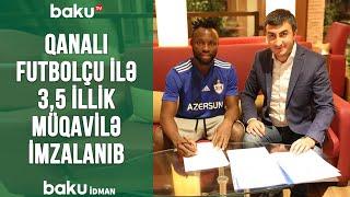Qanalı futbolçu ilə 3,5 illik müqavilə imzalanıb