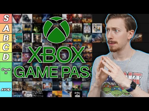 The ULTIMATE Xbox Game Pass Tier List | 200+ Games RANKED!