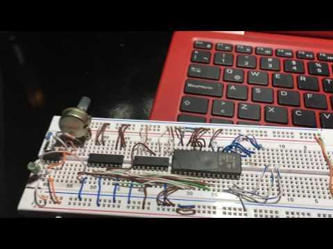 Tutorial Para Programar Un EPROM M27C512 Con Un Display Casero De 7 Segmentos