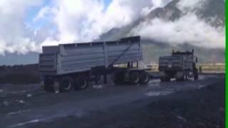2008 T800 Kenworth Quad Axle End Dump