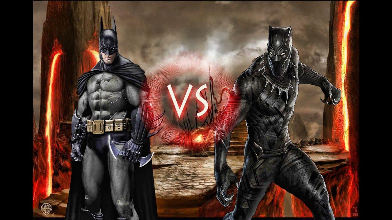 Batman Vs Black Panther Episode 40 Epic Battles Youtube