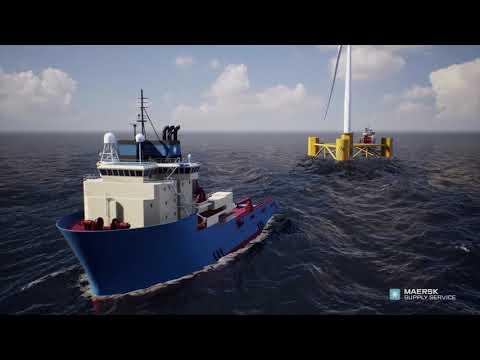 Floating Wind Turbine Installation