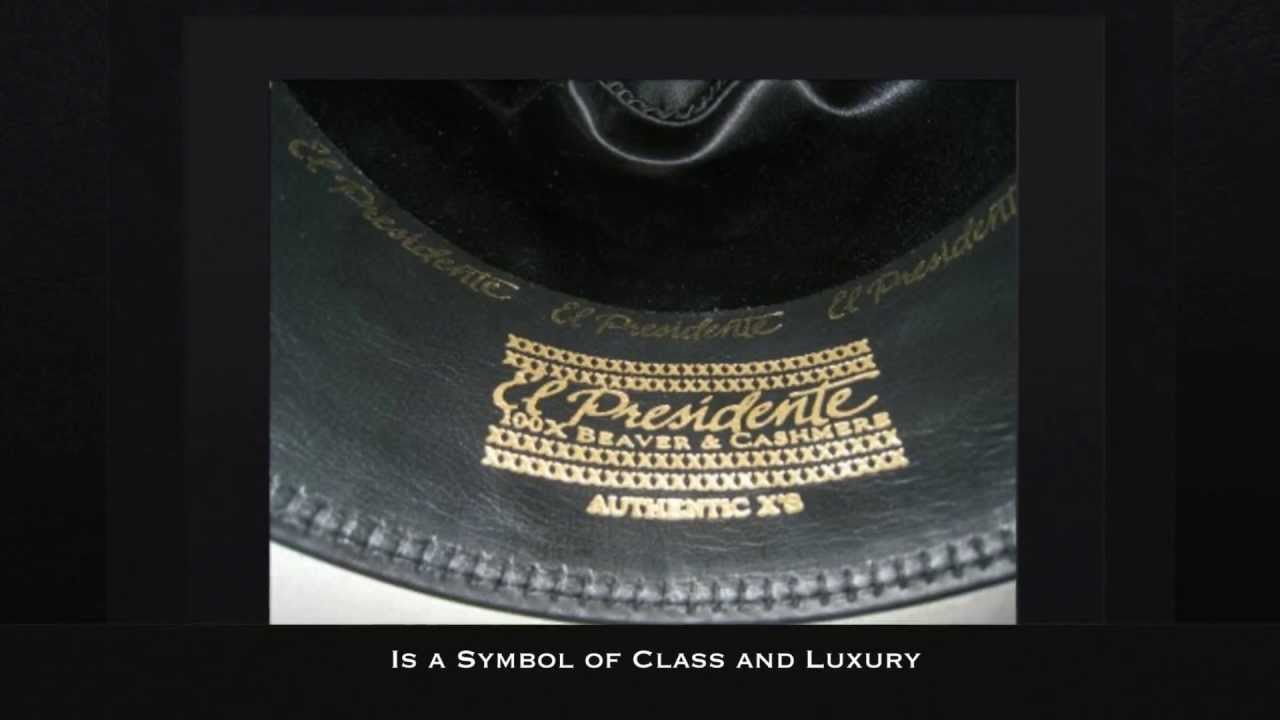100X Stetson El Presidente Hat - Rodeo Western Wear - YouTube 223d010048a