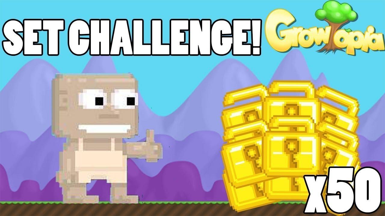 NEW 30 WLS PRO SET  CHALLENGE (NEW ITEM) | Growtopia - Set Challenge #111