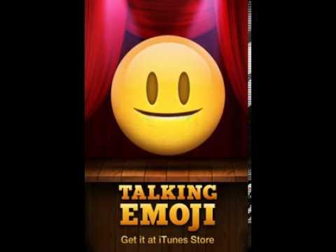 Talking emoji good morning - YouTube