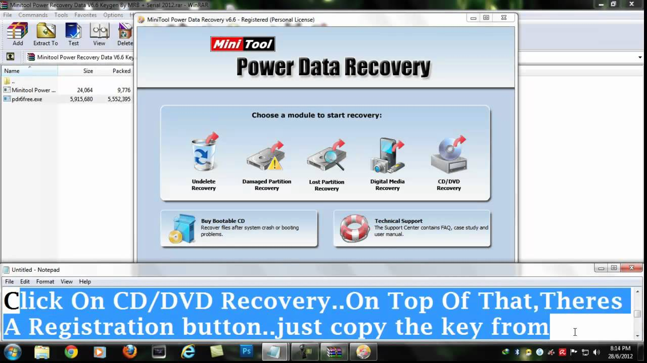 RECOVER MY V4.6.6.830.RAR TÉLÉCHARGER FILES
