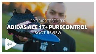 adidas ace 17 purecontrol blue blast playtest boot review