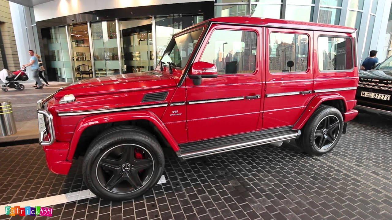 blood red G63 AMG V8 Biturbo Mercedes-Benz - YouTube