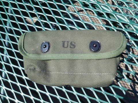 USGI Shotgun shell ammo pouch vietnam era review