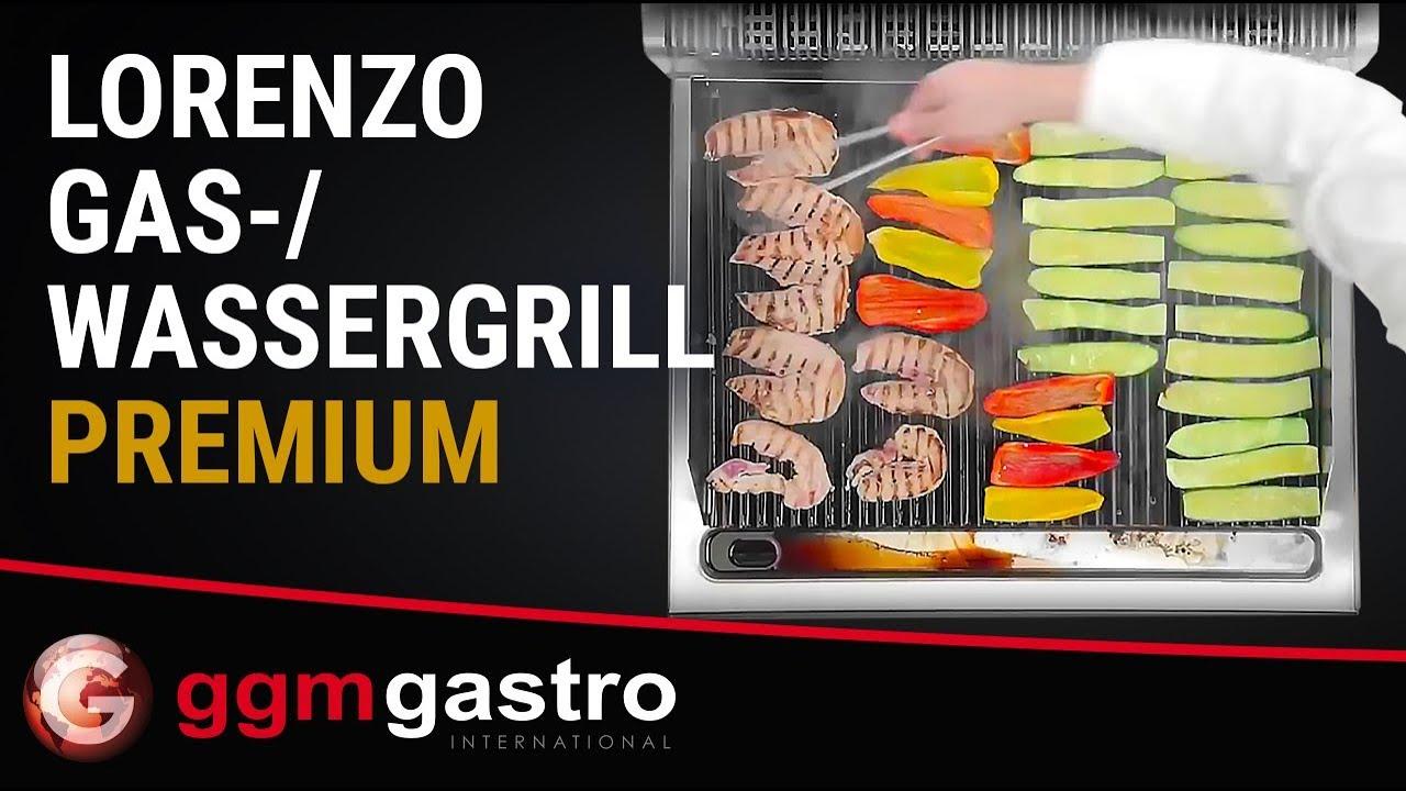Gastro Elektrogrill Test : Gas wassergrill lorenzo ggm gastro youtube