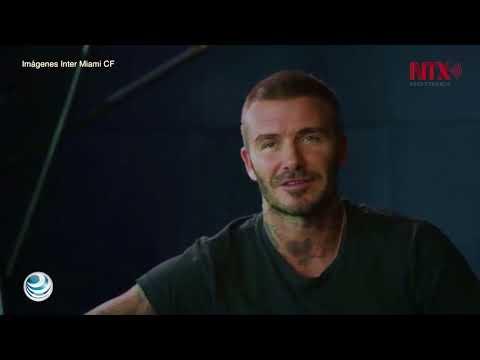 David Beckham presenta oficialmente al Inter Miami, su equipo de MLS