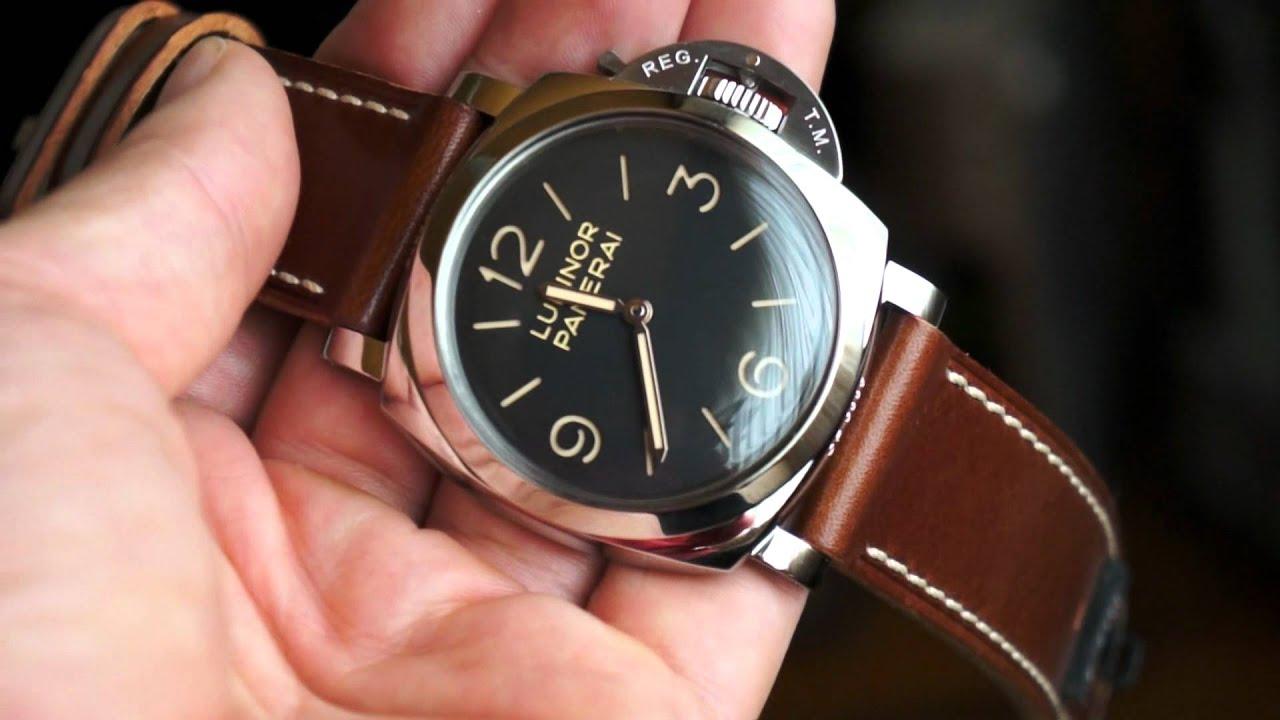 best website bf16c e9289 パネライ 47mmに挑戦しよう PAM00372がおすすめです! - 時計 ...