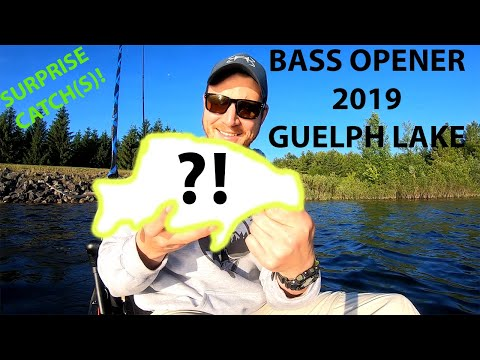 Guelph Lake Bass Opener AND SURPRISE CATCH!