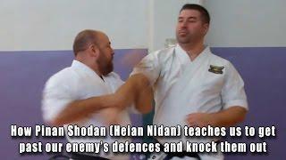 Practical Kata Bunkai: How Pinan Shodan (Heian Nidan) teaches us to get past our enemy's defences