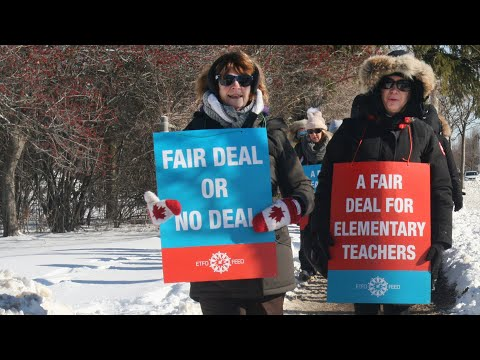 200,000 Canadian Teachers Strike to Defend Public Education