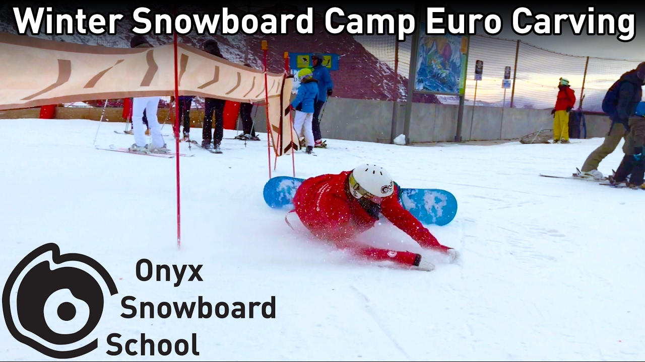 Snowboard Euro Carving Attempts Bails Onyx Snowboarding Winter