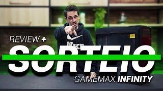 Gamemax DESAFIOU!! Novo Infinit Black Rainbow!!