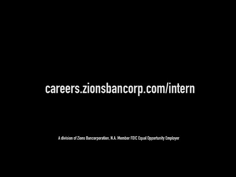 Interning with Zions