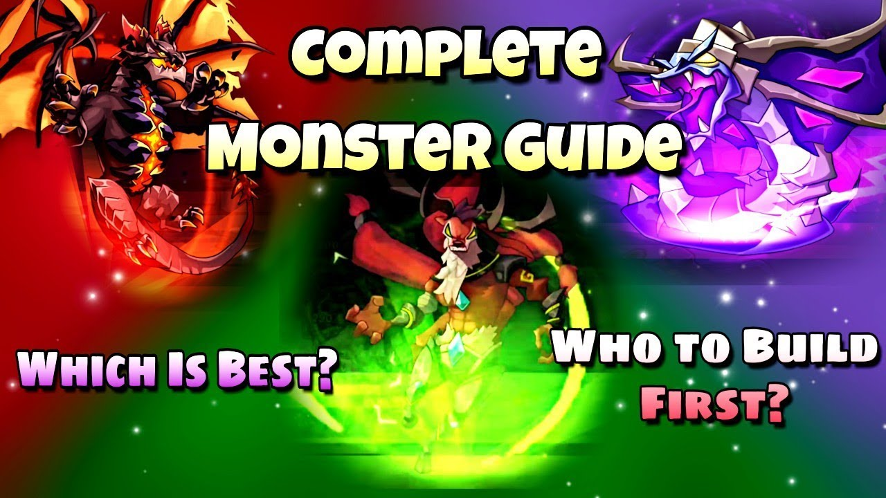 Idle Heroes (O) - Monster Guide - Best Monsters For Early to Endgame