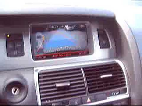 2006 audi q7 parking system advanced (camera) - youtube