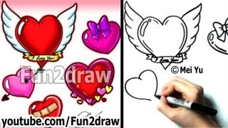 How To Draw A Heart Lollipop Vloggest