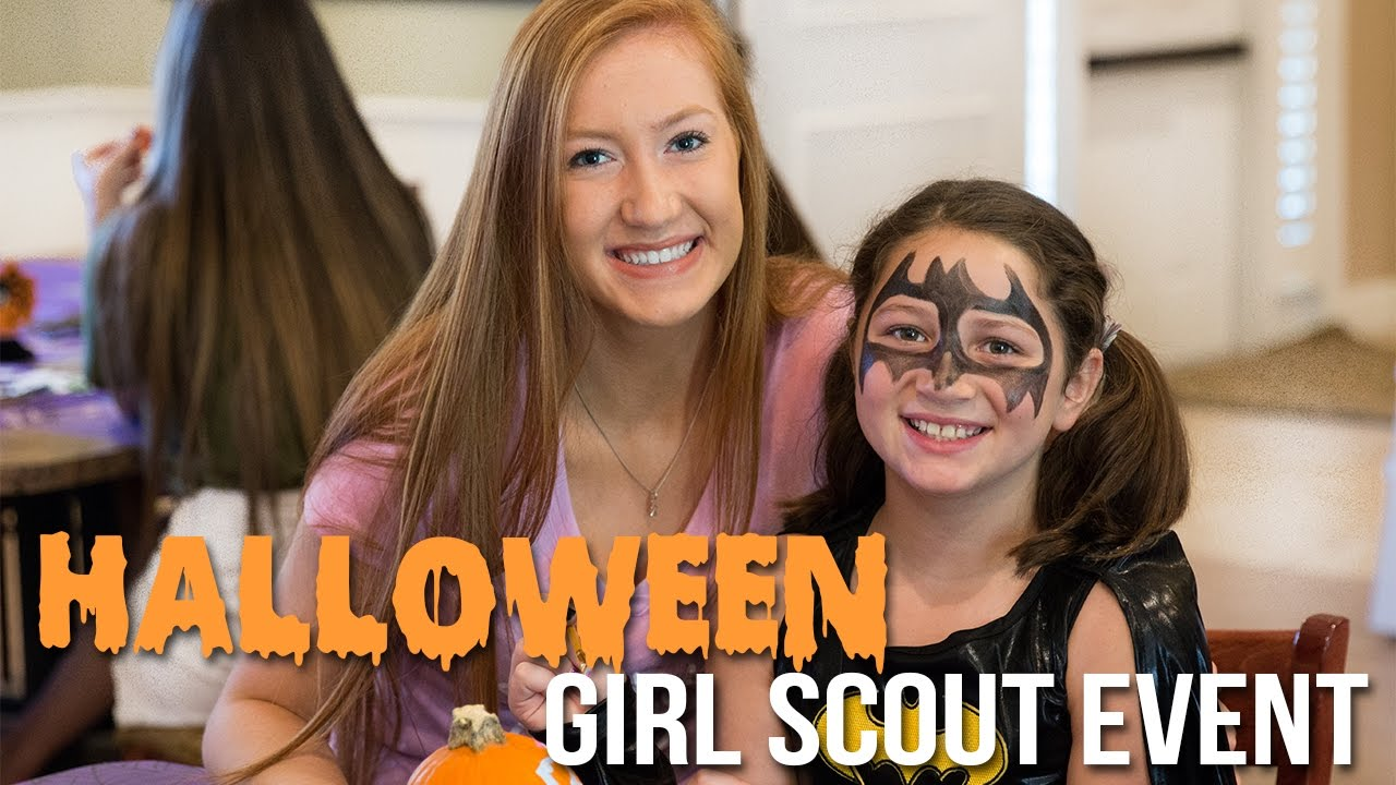 halloween girl scout event kappa delta ucf 2016