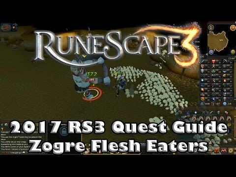 Rs3 Quest Guide Zogre Flesh Eaters 2017up To Date Youtube