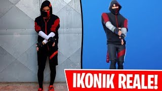 IKONIK BALL In real LIFE THE EMOTE OF FORTNITE ⛏️ IKONIK REAL LIFE