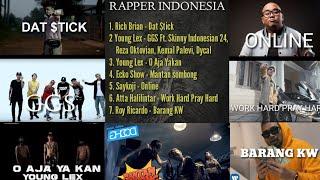 Gambar cover Lagu Rapper Hits Indonesia ||  Ada Atta Halilintar, Rich Brian, Young Lex
