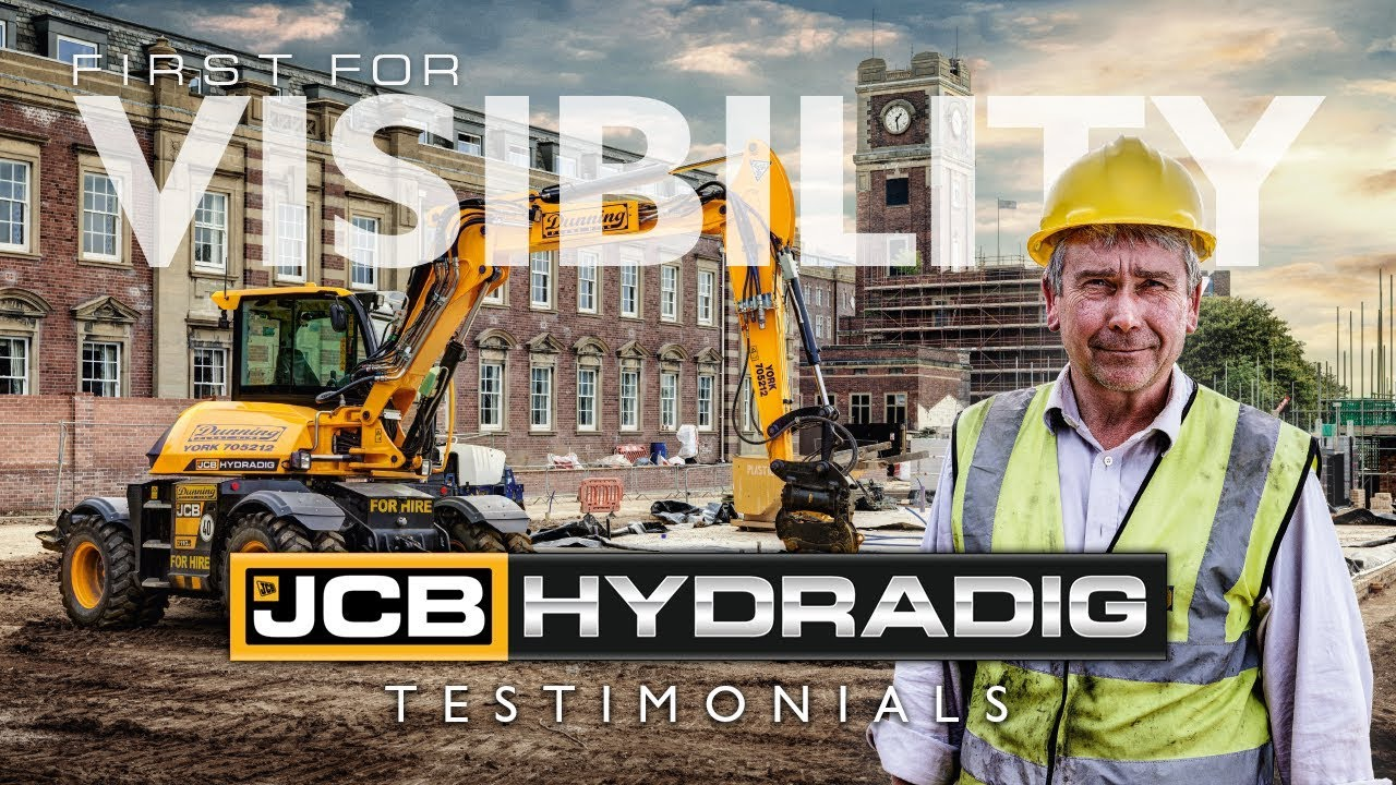 JCB HYDRADIG Testimonials - First for Visibility